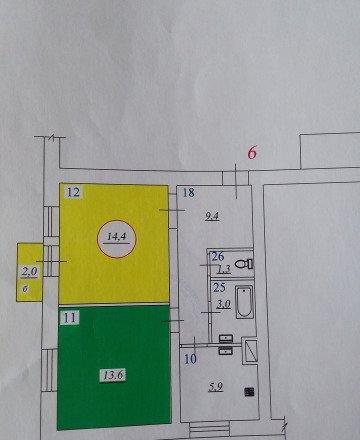 2-к квартира, 50м<sup>2</sup></a> ,2/2эт.